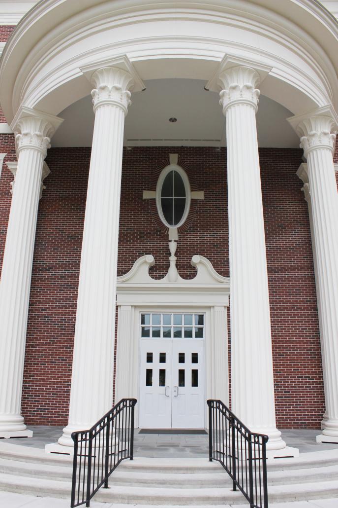 University of North Carolina veterans Hall Entrance