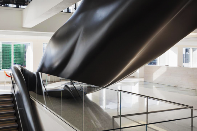 GFRP New York Stock Exchange CURVED STAIR